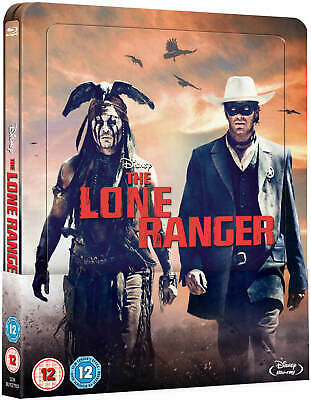 The Lone Ranger Blu-ray Lecticular Edition Steelbook Region Free From The UK.