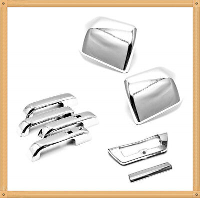 For 2015 2016 2017 2018 2019 Ford F150 Top Half Chrome Side Mirror Covers
