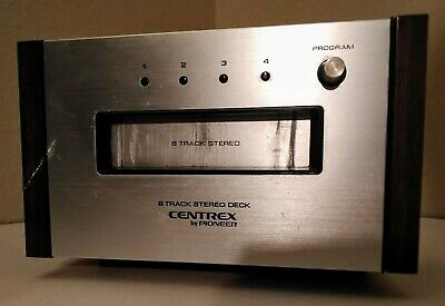 CENTREX BY PIONEER TH-30 STEREO 8 TRACK PLAY DECK Tested and working great