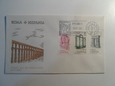 HobbyVision : SPAIN ROMA + HISPANIA 1974 MADRID CANCEL FIRST DAY COVER