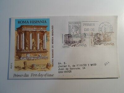 HobbyVision : SPAIN ROMA HISPANIA 1971 MADRID CANCEL FIRST DAY COVER
