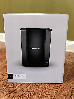 Bose S1 Pro Multi-Position PA System with Lithium-ion Rechargeable Battery: NEW!