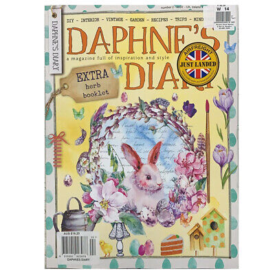 Daphne's Diary Extra Dream Book Interior Vintage Garden Issue 1 2020 Magazine W9