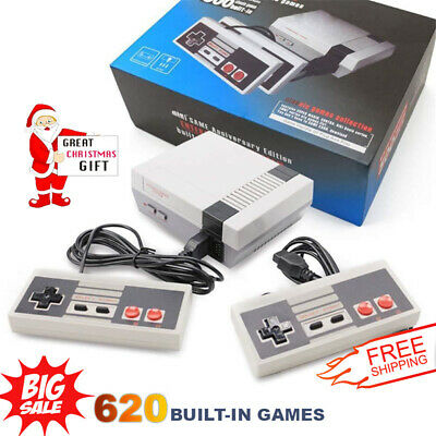 620 Games Built-in Entertainment Mini Classic Game Console - Christmas Kids Gift
