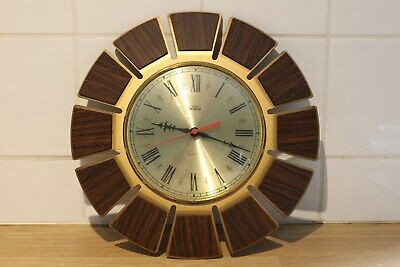 Rare Smiths Timecal 1970S Wall Clock With Original Movement, Best Example About.