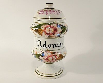 Bote Farmacia Albarello Apothecary Farmacy Pot Jar