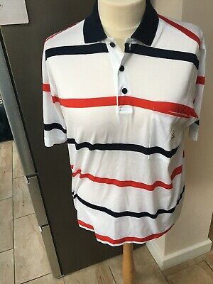 Paul & Shark Polo Shirt Mens Large Navy Collection T