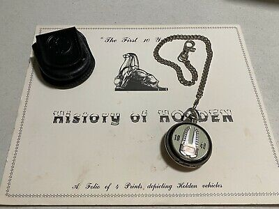 Holden Collectors Pocket Watch And Collectable History Prints Franklin Mint FJ