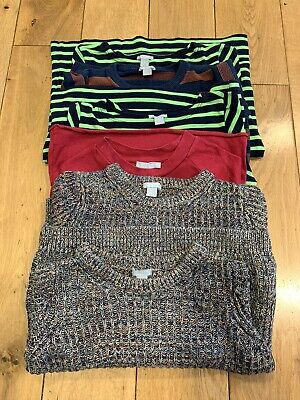 Brilliant lot of 6 jumpers all from COS Kids ages 1-4 and Tops 4-8