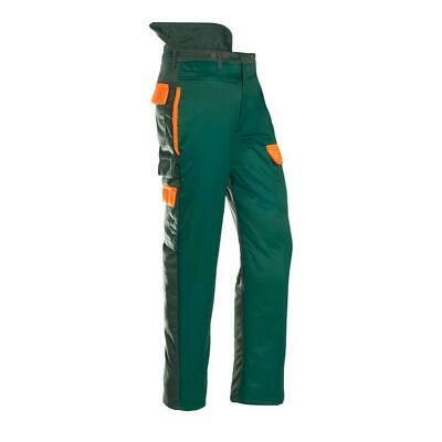 SIP Chainsaw Protection Trousers 1SP7 Green Hi Vis Orange XL