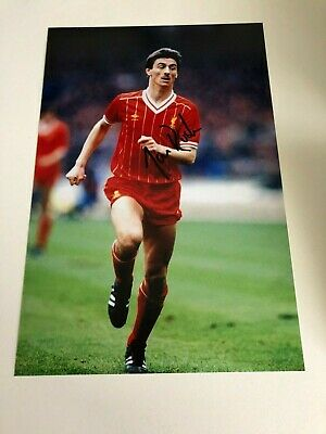 IAN RUSH LIVERPOOL FC ANFIELD REDS 1970s & 1980s LEGEND 12X8 HAND SIGNED PHOTO
