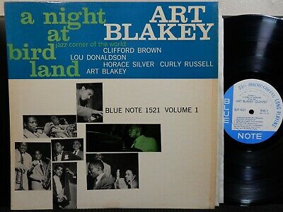 ART BLAKEY QUINTET Night @ Birdland V1 V2 BLUE NOTE 1521 1522 DG MONO RVG 9M EAR