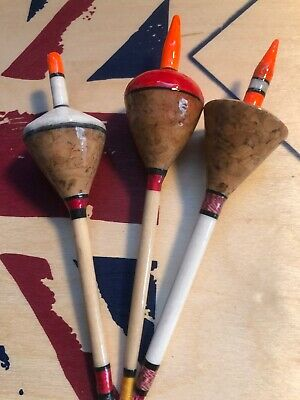 """Traditional Shaped Balsa /""""Perch Bobber/""""  8gm Larger"""