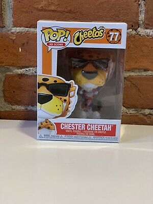 Funko Pop! Ad Icons: Chester Cheetah #77 (Shipped in Protector!)
