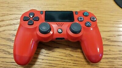 PlayStation 4 DualShock 4 V2 Wireless Controller - Magma Red official/genuine
