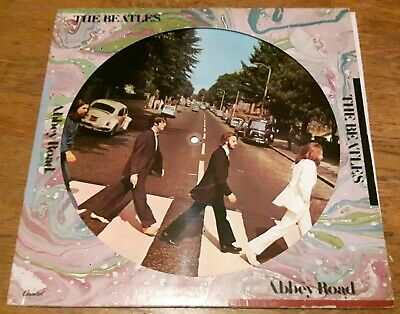 "Beatles 12"" vinyl Abbey Road Picture Disk"