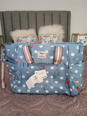 Cath Kidston Winnie The Pooh Carry All Nappy Bag New With Tags