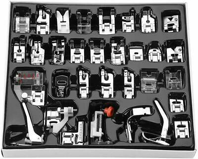 42 Pcs Sewing Machine Foot Feet Presser Snap Set Kit For Singer Brother Janome
