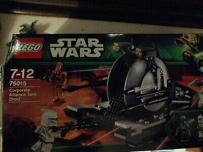 Corporate Alliance Tank 100/% Complete /& Boxed Star Wars Lego 75015