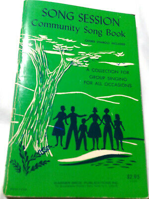 Song Session Community Song Book Group Singing All Occasions 1953