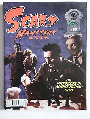SCARY MONSTERS Magazine #90 William Castle Microscope in Classic Horror Movies