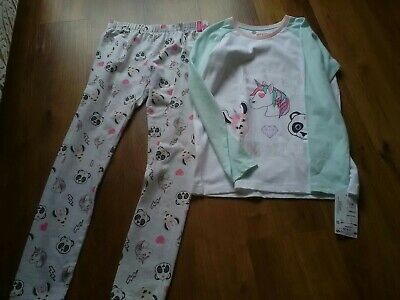 New Marks & Spencer Girls Pyjamas Age 11 - 12 Yrs