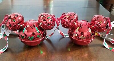 Set of 2 NEW Disney 2019 Light Up Mickey Mouse Jingle Bell Sipper Cup Christmas