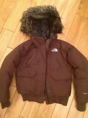 The North Face Hyvent Faux Fur Hooded Goose Down Jacket Size Ladies Small