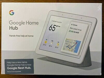 Brand NEW & SEALED!!! Google Nest Hub w/ Built-In Google Assistant, Chalk