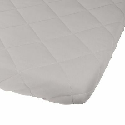 Waterproof Cotton Quilted Pack n Play Sheet | Mini Crib Sheet | All in one Mat..
