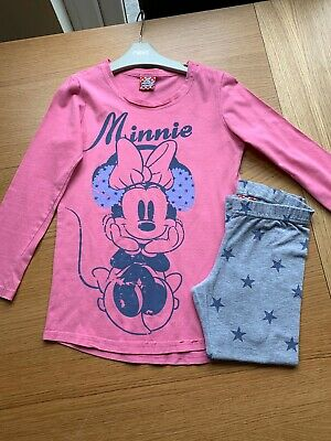 Girls Next Minnie Mouse Long Sleeve Pyjamas PJs Age 6 Years