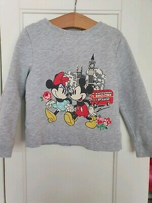 Cath Kidston Disney Mickey And Minnie Jumper. Age 2-3. Great Used Condition.