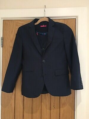 Next Suit Boys Blue Navy 3 Piece 11 Years