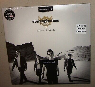 STEREOPHONICS Best Of Decade In The Sun GOLD Vinyl 2xLP Deleted RARE HMV SEALED
