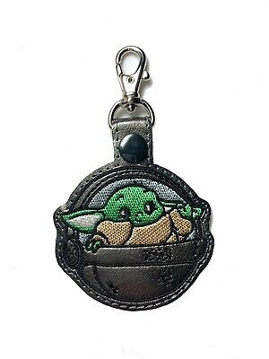 Baby Yoda / The Child, Star Wars The Mandalorian Keychain, Luggage Tag, Key Fob