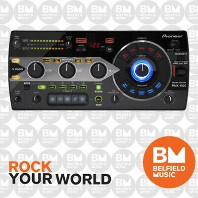 Pioneer RMX-1000 Remix Station for Editing, Performing and Controlling Plugins