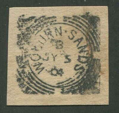 """Great Britain Squared Circle Cancel """"Woburn Sands"""""""