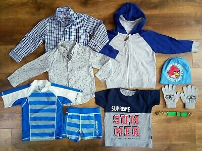 Boys clothes mixed bundle 4-5 years NEW and USED