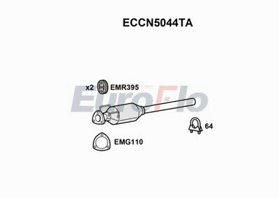 FIAT DUCATO 3.0D Catalytic Converter 2006 on EuroFlo Genuine Quality Replacement