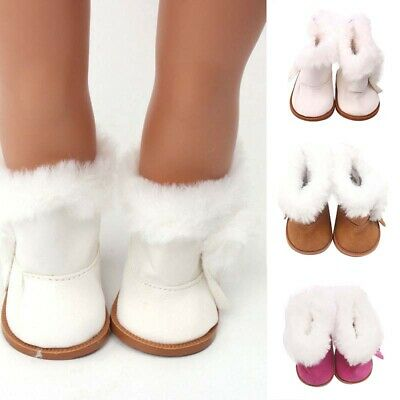 Doll Girl Inch Toy Shoes For American 18 Accessory Girl's Winter Glitter
