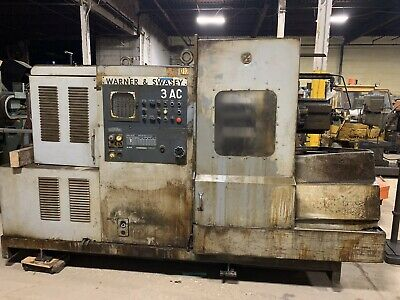 "WARNER & SWASEY 3AC M3930 MACHINE 18"" Chuck"