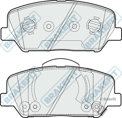 Brake Pads Set PD3829 Brakefit Genuine Top Quality Replacement New