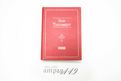 Supreme Bible New Testament Stash Box FW13 Red