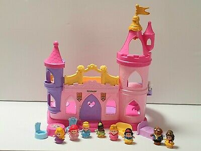 Fisher Price Little People Beauty And The Beast Castle With Princess Friends