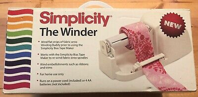 Simplicity The Winder Machine For Bias Tape Winder NEW