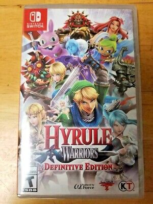 Nintendo Switch ~ Hyrule Warriors: Definitive Edition (US Version) ~ NEW