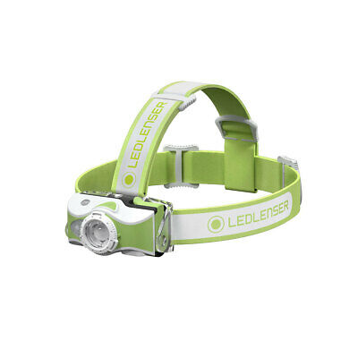 Led Lenser MH7 600 Lumen Rechargeable Headlamp - Green