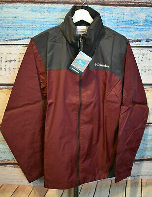 Columbia Glennaker Lake Rain Jacket - Mens Sz M - NWT