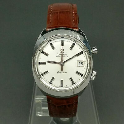 1970 OMEGA Chronostop Geneve Manual Watch Caliber CAL 920 Rare Vintage