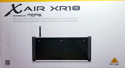 Behringer X Air Xr18 Digital Mixer Ipad/Android Tablets Brand New!